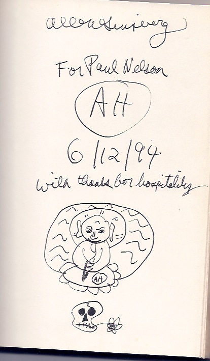 Allen's inscription of Cosmopolitan Greetings
