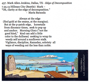 437. Mark Allen Jenkins, Dallas, TX - Edge of Decomposition