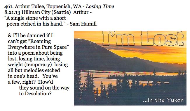 461. Arthur Tulee, Toppenish, WA - Losing Time