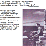 466. Joe Chiveney, Olympia, WA - The Empty River
