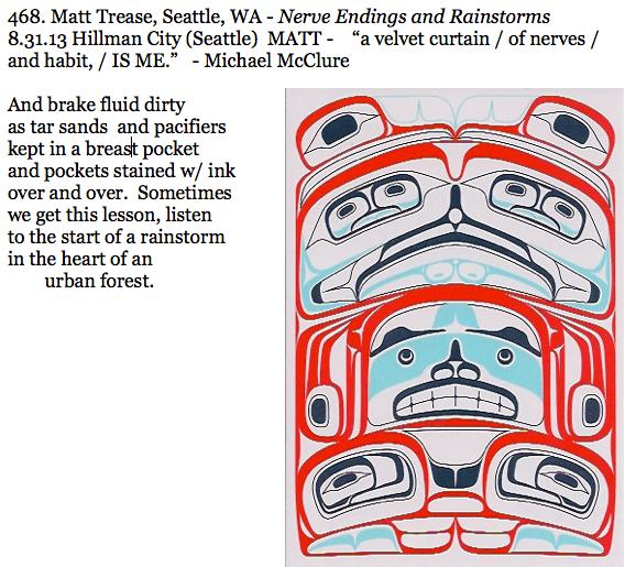 468. Matt Trease, Seattle, WA - Nerve Endings and Rainstorms