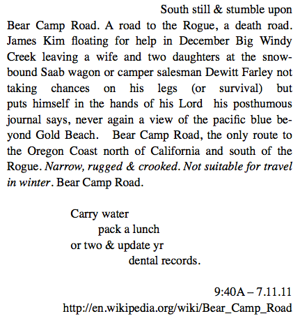 32. Bear Camp Road (2)