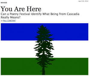 Paul Constant on Cascadia