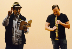 Paul Nelson and Dan Blunck 9.20.14 Poems for Peace at Subud House (Seattle)