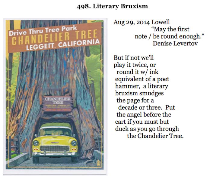 498. Literary Bruxism
