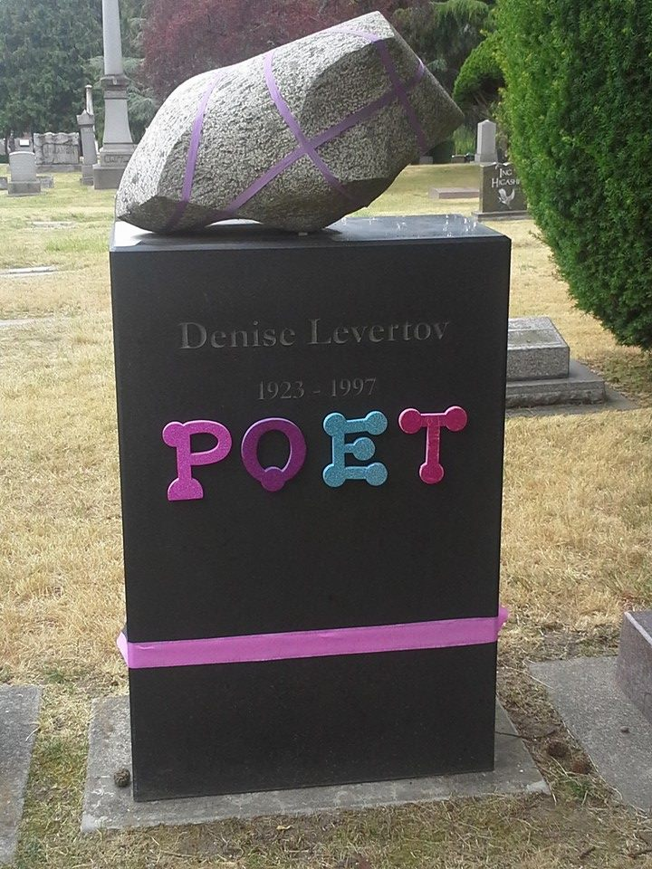 Denise Levertov's Grave (summer 2014)