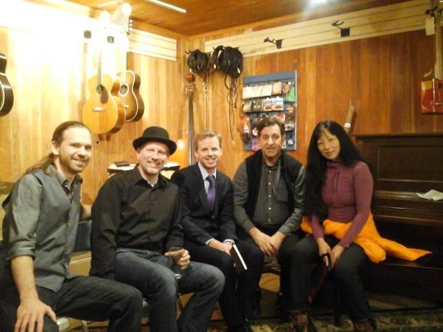 JonnyFive Eljae, Ace Moore, Mark Fleury, PN & Wang Ping, Underground Music Cafe, St. Paul, MN, N.30.14