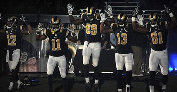 Si.com Stedman Bailey, Tavon Austin, Jared Cook, Chris Givens and Kenny Britt