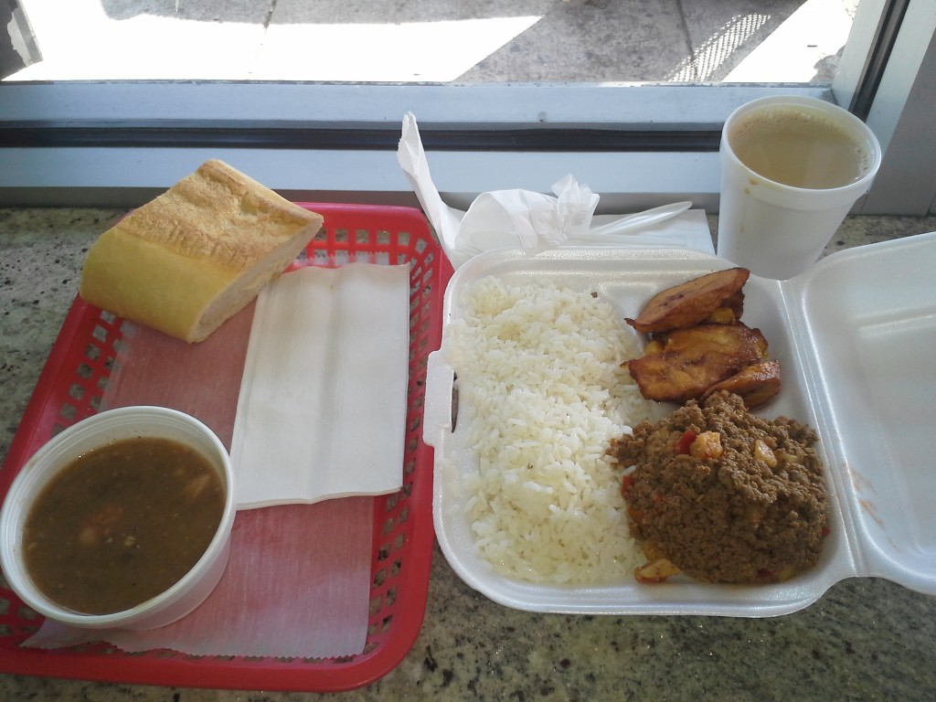 Cuban Food at the Tosca Bakery