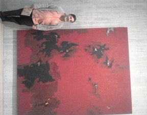 Your Humble Narrator at the Clyfford Still Museum