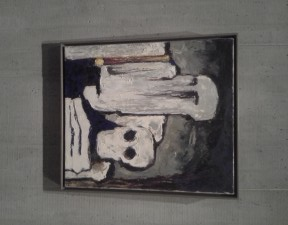 Painting by Clyfford Still