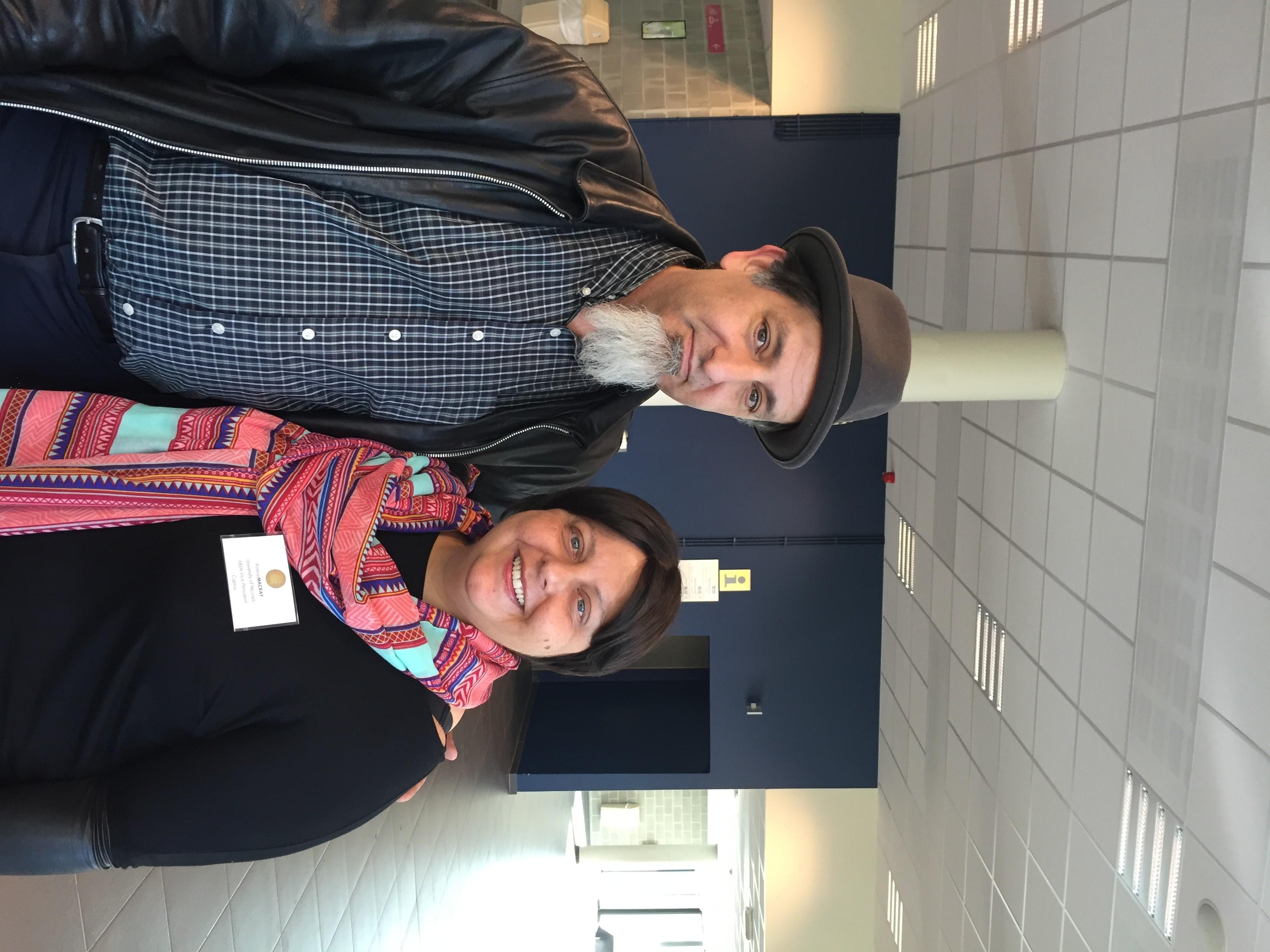 PEN & Polina McKay, EBSN Co-Founder