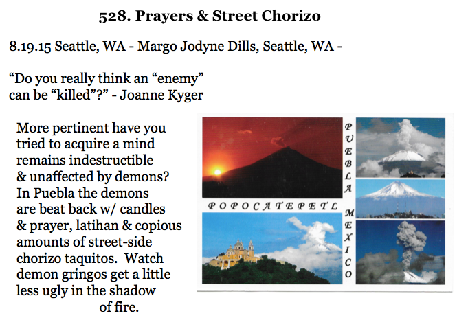 528. Prayers & Street Chorizo