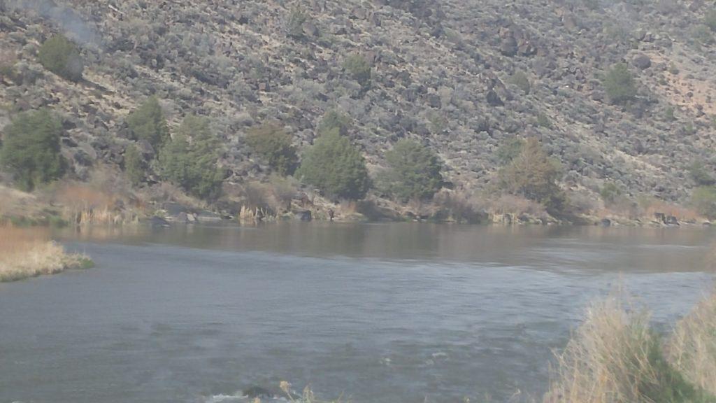 Rio Grande from Orilla Verde, New Mexico http://www.blm.gov/nm/st/en/prog/recreation/taos/orilla_verde.html