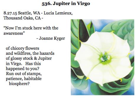 536. Jupiter in Virgo