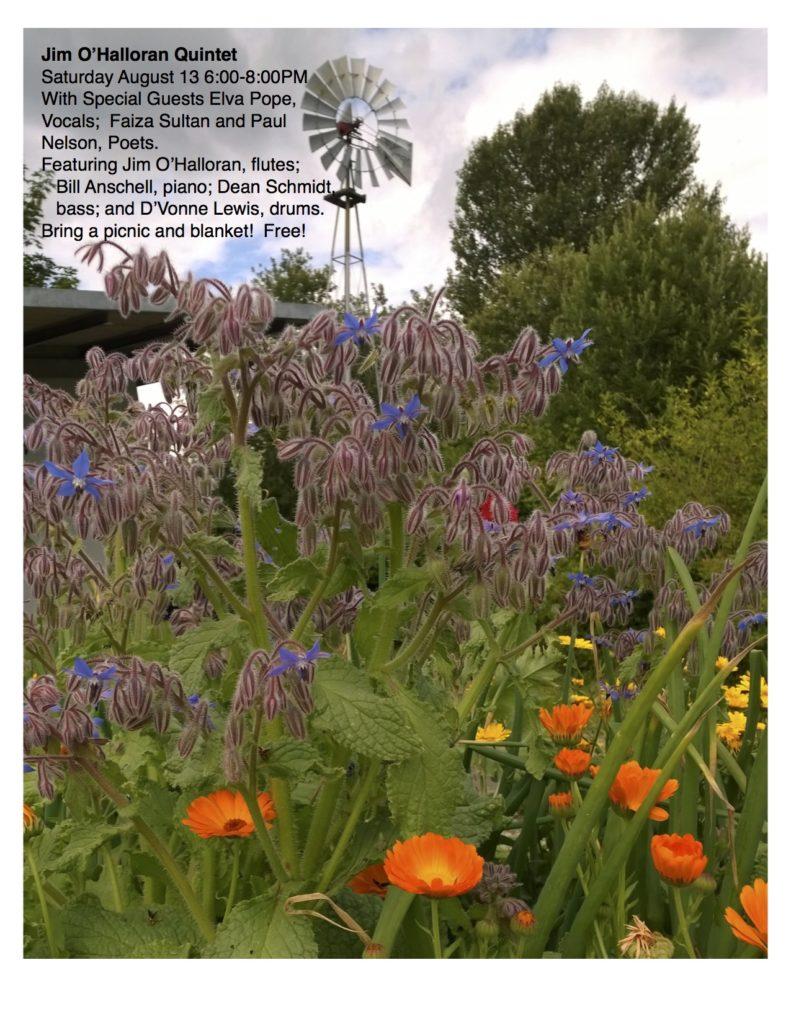 Annual Bradner Gardens Reading | Paul E Nelson, Poet, Interviewer
