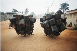 Romuald Hazoumè (Benin), Twin Airbags, 2004